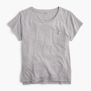 J.Crew Gray Pocket T Shirt Size L